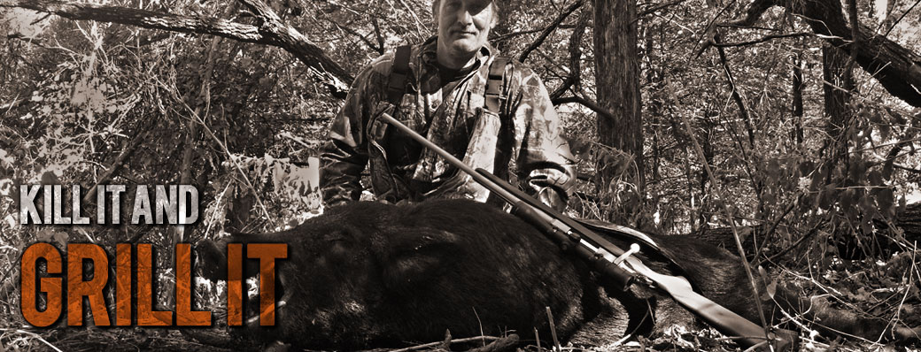 Wild Boar Hunts in Oklahoma at No Mercy Hunting Services
